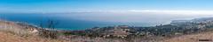 Panorama from Portuguese Bend Reserve (InSapphoWeTrust) Tags: california losangeles northamerica palosverdespeninsula usa unitedstates unitedstatesofamerica