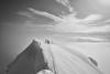 On Arnøyhøgda (1165m) (S_Peter) Tags: arnøya arnoya skjervøy skjervoy norway norge norwegen troms lyngen ski touring backcountry snow sea leica m9 voigtlaender voigtlander cosina ultron f18 21mm bw blackwhite schwarweiss sw guided skiing voigtländer