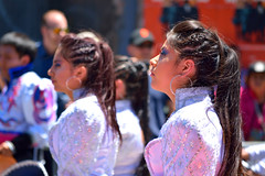 Carnaval Parade SF 37 (TheseusPhoto) Tags: girls women costume colors colorsoftheworld people candid candids parade carnaval sanfrancisco missiondistrict streetphotography street streetportrait festival culture earrings silver