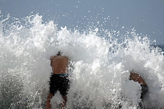 Surf (iansand) Tags: surf surfing dy deewhy wave waves foam spray splash