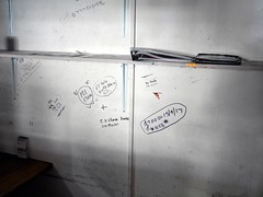 Everything Must Go - 26 (the justified sinner) Tags: justifiedsinner panasonic 17 20mm gx7 birmingham wholesalemarkets flower fruit meat fish vegetable market digbeth frictionarts urbex performance installation graffiti