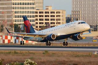 N624CZ ERJ-175, Delta Connection/Compass Airlines, Los Angeles