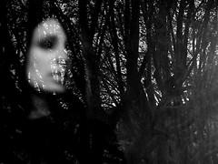 Estela desenfocada (no sabemos cómo llamarnos) Tags: retrato desenfoque blancoynegro blackandwhite noiretblanc monochrome monocromático