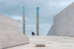 The Unknown II (Peter Westerhof) Tags: champalimaudcenterfortheunknown lisbon portugal architect researchcenter architecturalphotography architecture building minimalism champalimaud correa charlescorrea blue