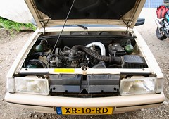 The 1.9 Powerhouse, complete again! (Skylark92) Tags: nederland netherlands holland amsterdam citroën bx 19 tri 1989 xr10rd blanc cremant 19i 8v monopoint injection 110pk 110hp