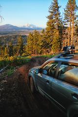 2012 Subaru Forester (softroadingthewest.com) Tags: sh forester subaru threesisters cascades oregon centraloregon nationalforest softroading offroad trail dirtroad dawn