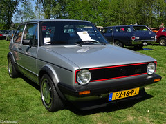 Volkswagen Golf (peterolthof) Tags: peterolthof klazienaveen oldtimerdag 652018 px16pj