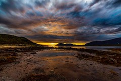 Sunset at Roksøyfjord, vesterålen (hongisen) Tags: sunset sunshine sea canon nightscape landscapes seashore