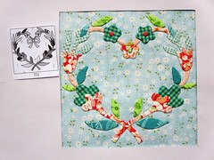 Chuck Nohara nr. 751 (ompompali Claudia) Tags: chucknohara patchwork applique handstitching handquilted handquilting