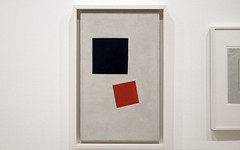 Malevich, Painterly Realism of a Boy with a Knapsack - Color Masses in the Fourth Dimension