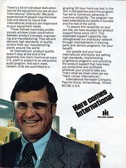 1978 International Harvester Plant & Engineering People Page 2 Aussie Original Magazine Advertisement (Darren Marlow) Tags: 1 7 8 9 19 78 1978 i international h harvester c construction e equipment t tractor truck car 4 x 4x4 earth m moving v vehicle u us usa united s states a america american 70s