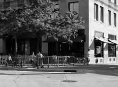 Sunday morning on the Square (humbletree) Tags: sundaymorning madison capitolsquare fujixe2 morninglight