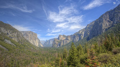 9L1A8334_8336 (vicjuan) Tags: 20180506 美國 usa 加州 california yosemitenationalpark geotagged yosemitevalley mariposacounty hdr tonemapping halfdome elcapitan bridalveilfalls