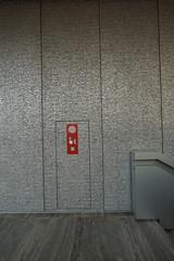 2018-05-FL-188391 (acme london) Tags: aluminium artgallery flooring foamedaluminium fondazioneprada hosecabinet italy mep milan milano museum oma remkoolhaas stonefloor travertine travertinestone wallcladding