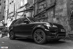 Range Rover Glasgow Scotland 2018 (seifracing) Tags: armed seifracing spotting services scotland emergency europe rescue recovery transport traffic cars car photography photos photographe photographer black white seif security glasgow range rover 2018