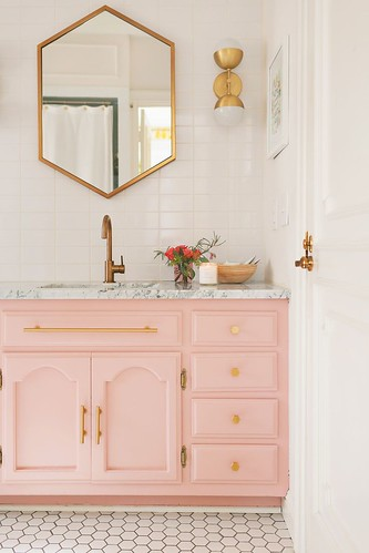 Bathroom Furniture : Elsie's Guest Bathroom Tour (Before + After) – A Beautiful Mess