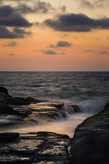 Sunset in Laguna Beach | Peaceful Moment (Kim Jane) Tags: beach ocean sunset peaceful lagunabeach water color nature rocks