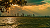 Saying goodbye to the sun from the bay. (Aglez the city guy ☺) Tags: sunset lateafternoon bay waterways walkingaround walking urbanexploration miamifl miamibeach seashore seascape sea outdoors waves sun