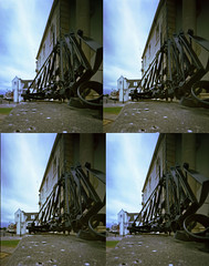 Another date with Ms 3D (wheehamx) Tags: ms 3d x3d irvine auchincruive wide angle pinhole