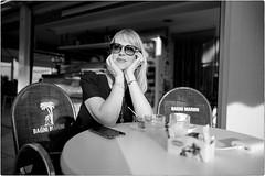 Bagni Marini (Steve Lundqvist) Tags: woman donna ragazza portrait beauty ritratto italy italia grooming groomed posh classy fashion moda glasses sunglasses leica q