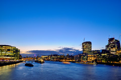 London blue hour (Petr Horak) Tags: london unitedkingdom uk europe britain british britishisles greatbritain lnd city thames bluehour evening night river water