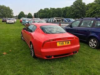 Boomerang LED Taillight 2001 Maserati 3200GT V8 Twin Turbo & 6 speed manual Gearbox