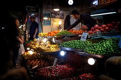 buy! (freakingrabbit) Tags: tabriz bazar bazaar iran persia market fruit dark spotlight fruits east azerbaijan