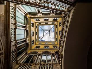 Barcelone - cour intérieure II