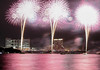 Three champagne roses (sapphire_rouge) Tags: odaiba スターアイランド2018 お台場 東京 芝浦 ngc 花火 fireworks shibaura starisland2018