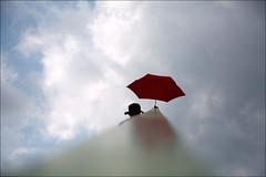 F_47A2773-1-Canon 5DIII-Tamron 28-300mm-May Lee 廖藹淳 (May-margy) Tags: maymargy 人像 背影 剪影 不銹鋼 扶手 紅色 雨傘 雲彩 心情的故事 幾何構圖 點人 點物 模糊 散景 街拍 streetviewphotography 天馬行空鏡頭的異想世界 mylensandmyimagination 線條造型與光影 linesformandlightandshadow 三角形 triangle 心象意象與影像 naturalcoincidencethrumylens stainless hand rail reflection 反射 f47a27731 portrait red umbrella handrail blur bokeh clouds viewfromback silhouette humaningeometry taipeicity taiwan repofchina 台北市 台灣 中華民國 canon5diii tamron28300mm maylee廖藹淳 stainlesssteel 金屬 metal