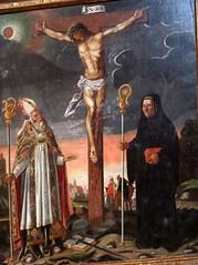 Christ en croix - Abbaye de St-Polycarpe (Philippe_28) Tags: aude 11 stpolycarpe abbaye abbey monastère france europe