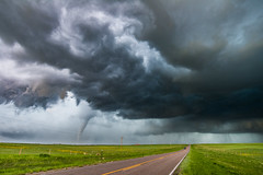 Wyoming Tornado - May 27, 2018 (Bryce Bradford) Tags: wyoming tornado may 27 2018 severe storm supercell stormscape landscape nikon d800e nikkor 1835mm
