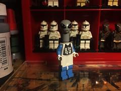 Kaminoan (Lord Allo) Tags: lego star wars episode two attack the clones kamino kaminoan clone trooper troopers lama su taun we