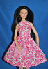 Pink Floral Made to Move (toomanypictures1) Tags: ooakclothes barbie francie curvy reproduction american girl made move mattel