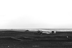 Mayday (Lo.Re.79) Tags: bw abandoned airplane decay exploration flik forgotten iceland landscape outdoor rotten rottenplaces urban urbex