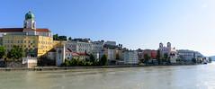 Passau-pano-001 (DaWen Photography) Tags: cruise dawenphotography europe germany locations panorama passau riverbank travel vacation