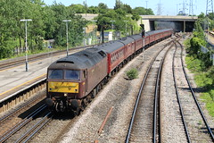 The Cathedrals Express @ Millbrook (Synchorus) Tags: cathedrals express 45212 47746 millbrook