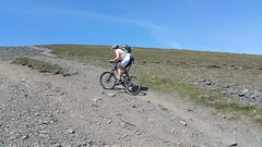 to Skiddaw (koothenholly) Tags: cumbria cycling skiddaw paths