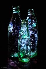 lit (TheOtherPerspective78) Tags: bottle bottles bottlelight led light antique codbottle flasche flaschen soda beer dark lowlight color colorful glass glas helios442 russianlens vintage retro vintagelens manualfocus manualfocuslens tabletop glasflaschen glasflasche bierflasche sodaflasche theotherperspective78 canon eosm6