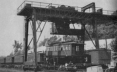 WWII El being loaded for shipment to California (mellowone_99) Tags: nyel2 wwii richmomd shipyard railway oakland california