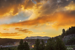 Rollinsville Colorado Trains and Sunset (Striking Photography by Bo Insogna) Tags: nature landscapes rollinsville colorado town mining train trains sunsets sunrises sky colorful art artwork imageslicensing jamesinsogna mountains rockymountains gilpincounty blackhawk unitedstates rollinsvillecolorado