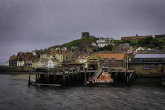 Whitby (Kev Walker ¦ 8 Million Views..Thank You) Tags: architecture boats britishculture building canon1855mm canon700d cliffs coastline digitalart fishingport hdr harbour historic northyorkshire outdoor panorama panoramic picturesque postprocessing sea seaside seasidevillage sky tranquil unspoilt water waterfront waterside whitby
