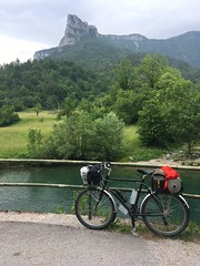 Surly LHT (luka.pezerovic) Tags: steelisreal 4130 steelbicycle slovenia croatia kolpa kupa gorskikotar landscape carradicecamper carradice brooksb17 brooks travel outdoor forest mountain river nature bikecamping bikepacking biketouring longhaultrucker surlylht surlybikes surly