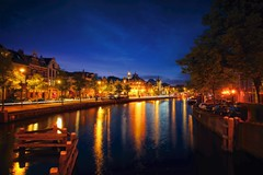 Haarlem by night -2016 (l.cutolo) Tags: perfecteffects cityscape a7 dhrlike netherlands z city citylines citycentre spaarne night tlp reflections stackphotos worldtrekker water river ononeraw2018 sony perfectreflections haarem starssky multipleexposure haarlem lucacutolo bluehours sonyfe2470mmf40zaoss