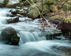 Spring waterfall . . . (Dr. Farnsworth) Tags: water falls rapidriver smooth longexposure flowing blur motion sevenbridges mi michigan spring may2016
