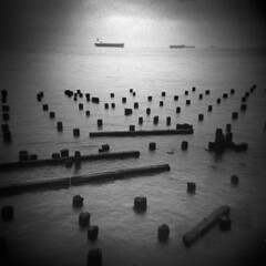Astoria #19 (LowerDarnley) Tags: shipping ships columbiariver oregon northwest or astoria holga