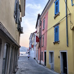 Yellow and Pink (aiva.) Tags: slovenia adriatic architecture koper slovenija jadran balkan