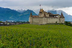 Aigle castle (barnyz) Tags: aigle castle switzerland swiss vaud medieval