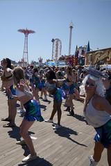 Mermaid Parade 2018 (Samicorn) Tags: nikon brooklyn mermaid costume parade summer june nyc newyorkcity boardwalk coneyisland sunny festival glitter shiny gothamist mermaidparade brokelyn tailshakers dancers timeout