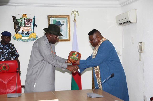 HSDickson-Courtesy Call With Bishop M. Okonkwo 22 march 2013